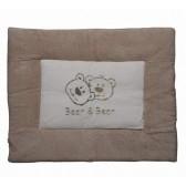 Boxkleed badstof Bear en Bear ecru - Anel