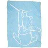 Wiegdeken Silly Pooh blue - Anel