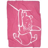 Wiegdeken Silly Pooh pink - Anel