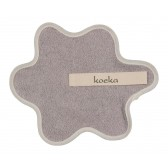 Speendoekje badstof Rome Silver Grey - Koeka