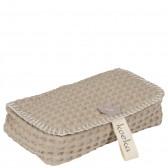 Bewaarhoesje voor babydoekjes Antwerp Stone - Koeka