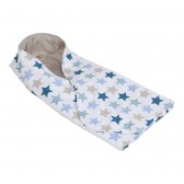 Omslagdoek Mixed Stars Mint - Little Dutch