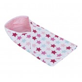 Omslagdoek Mixed Stars Pink - Little Dutch