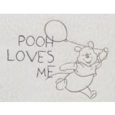 Muursticker middel Pooh Bakkery brown - Anel