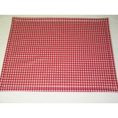 Boxdek 75 x 94 Rood Ruit - Cools Petito