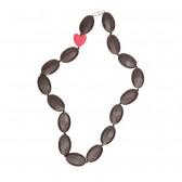 Bijtketting Chewelry Bridget smokey black - Smartmama