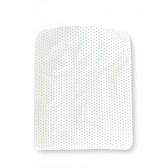 Dekenhoes Sterretjes Wit met Mint voor ledikant - Cottonbaby