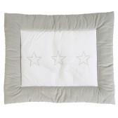 Boxkleed Stars zilver 85x105cm - Jollein