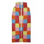 Slaapzak winter 90 cm colourful check - Jollein