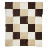 Boxkleed Colourful check natural 85x105cm - Jollein