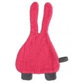 Speendoekje badstof Bunny roze - Jollein
