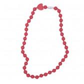 Bijtketting Chewelry Twiggy scarlet red - Smartmama