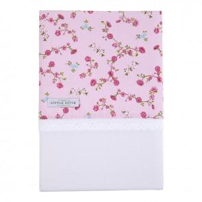 Ledikantlaken Pink Blossom - Little Dutch