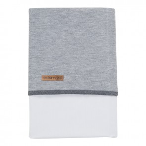 Ledikantlaken Grey Melange - Little Dutch