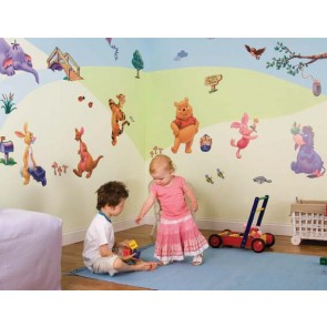 Room make-over kit Disney Winnie the Pooh - FunToSee