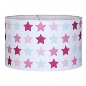 Hanglamp Rond Mixed Stars Pink - Little Dutch