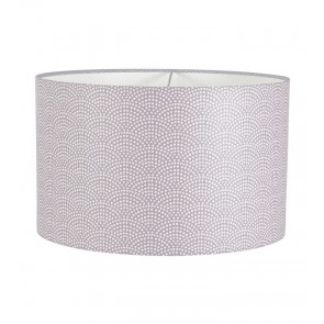 Hanglamp Rond Mauve Waves - Little Dutch