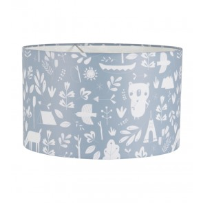 Hanglamp Rond Adventure Blue - Little Dutch