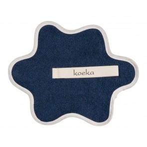 Speendoekje badstof Rome dark blue - Koeka