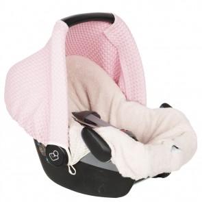 Zonnekap voor Maxi Cosi Antwerp Old baby pink - Koeka