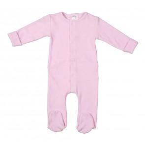 Babypakje met voetjes berlin baby pink maat 74-80
