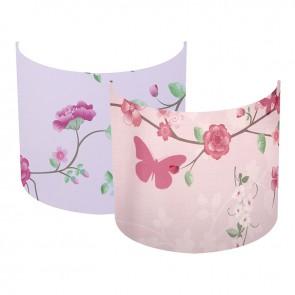 Wandlamp Silhouette Pink Blossom - Little Dutch