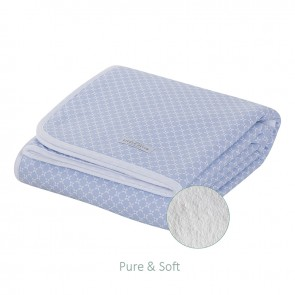 Ledikantdeken Pure&Soft Sweet Blue - Little Dutch