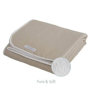Wiegdeken Pure&Soft Beige - Little Dutch
