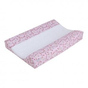 Aankleedkussenhoes Pink Blossom - Little Dutch