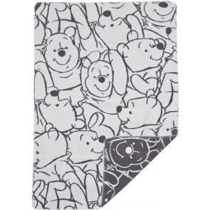 Wiegdeken Pooh Fresh grijs - Anel