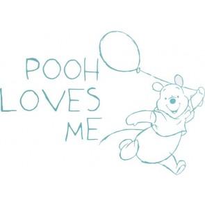 Muursticker groot Pooh Fresh mint - Anel