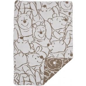 Ledikantdeken Pooh Bakkery brown - Anel