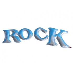 Skai letters Rock in zilver - Pakhuis Oost