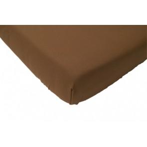 Hoeslaken wieg katoen bruin 40 x 80 cm - Jollein