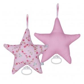 Muziekdoos Ster Pink Blossom - Little Dutch