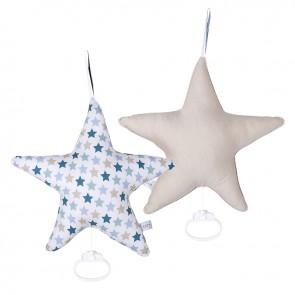 Muziekdoos Ster Mixed Stars - Little Dutch