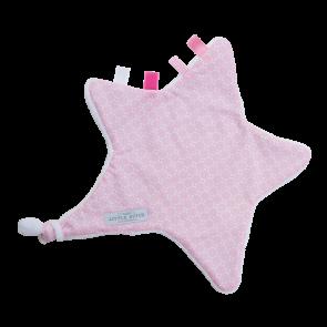 Knuffeldoekje Hart Sweet Pink - Little Dutch