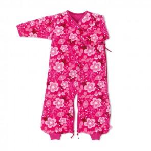 Slaapzak fluweel 0-9 m Akimi Fuschia - Baby Boum