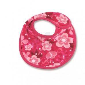 Slab 21 cm fluweel Akimi Fuchsia - Baby Boum