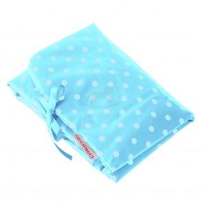 Verschoningsmat Stippen Lichtblauw - Cottonbaby
