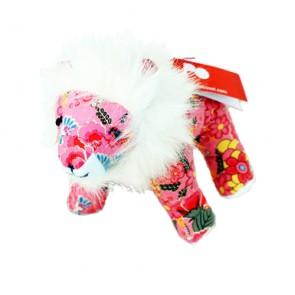 Knuffel Welp - Roze met bloemen - Pakhuis Oost