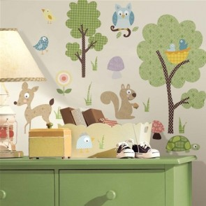 Muurstickers Woodland Animals - RoomMates