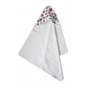 Badcape Uiltjes Multicolor - Cottonbaby