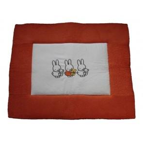 Boxkleed badstof Nijntje Oranje - Anel