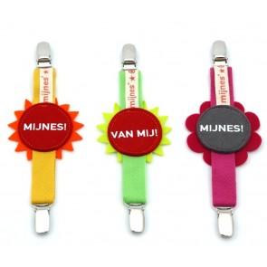 Mijnes speelgoed clip - diverse kleuren - Design Heroes