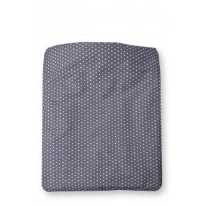 Dekbedovertrek junior sterretjes grijs - Cottonbaby