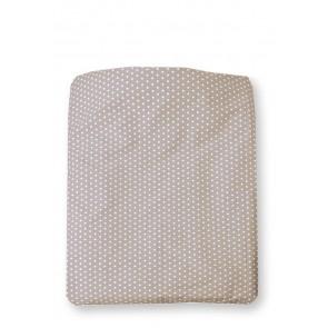 Dekenhoes Sterretjes Zand voor ledikant - Cottonbaby