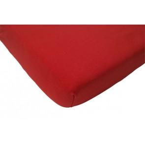 Hoeslaken wieg jersey rood 40 x 80 cm - Jollein
