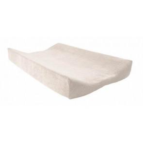Aankleedkussenhoes badstof vanille - Jollein