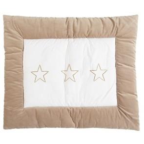 Boxkleed Stars taupe 85x105cm - Jollein